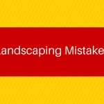 Landscaping Mistakes